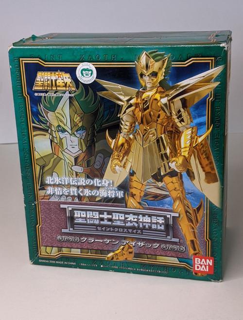 Saint Seiya: Saint Cloth Myth/Knights Of The Zodiac - General Isaac Action Figure - 2003 - Bandai - Boxed/Unopened