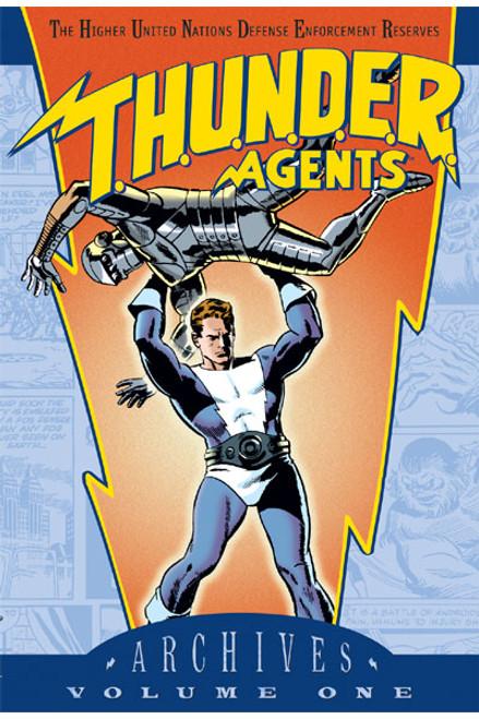T.H.U.N.D.E.R Agents Volume One - 2002 - DC Graphic Novel - HB