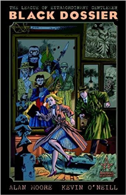 The League Of Extraordinary Gentlemen: Black Dossier - 2008 - Wildstorm Graphic Novel - HB