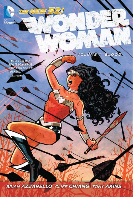 The New 52: Wonder Woman Volume 1: Blood - 2012 - DC Graphic Novel - PB