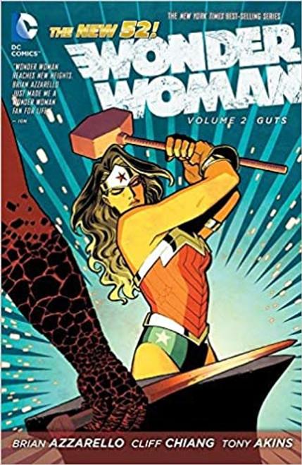The New 52: Wonder Woman Volume 2: Guts - 2012 - DC Graphic Novel - PB