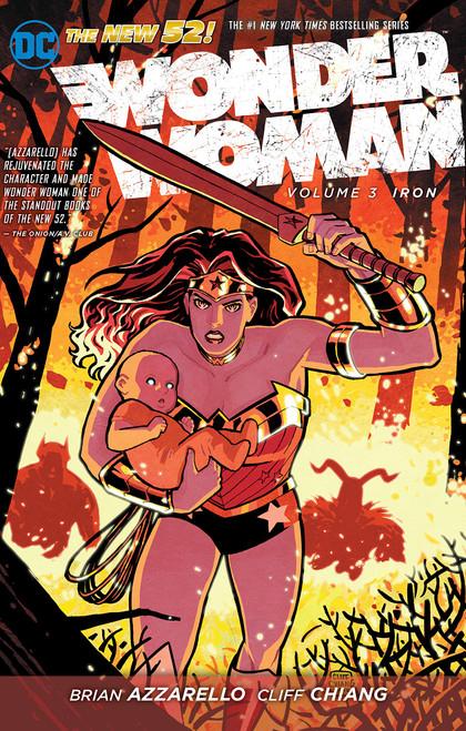 The New 52: Wonder Woman Volume 3: Iron - 2013 - DC Graphic Novel - PB