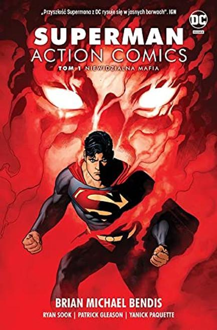 Superman Action Comics Volume 1: Invisible Mafia - 2019 - DC Graphic Novel - HB