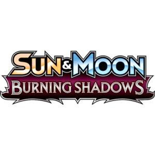 Pokemon Sun and Moon: Burning Shadows Blind Pack of 6 Cards - 2017 - The Pokemon Company