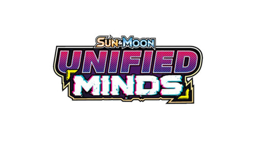 Pokemon Sun and Moon: Unified Minds Blind Pack of 6 Cards - 2019 - The Pokemon Company
