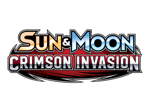 Pokemon Sun and Moon: Crimson Invasion Blind Pack of 6 Cards - 2017 - The Pokemon Company
