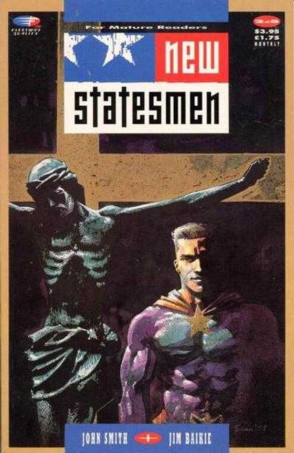 New Statesmen #2 - 1989 - Fleetway Graphic Novel - PB