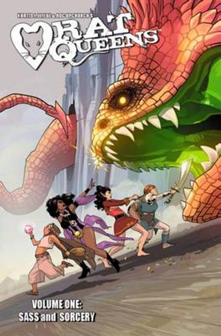 Rat Queens Volume 1: Sass & Sorcery - 2014 - Image Graphic Novel - PB