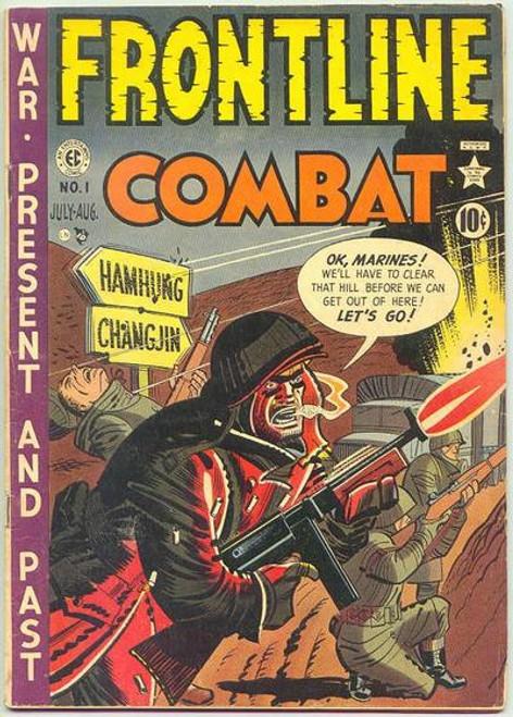 Frontline Combat - 1982 - EC Graphic Novel - PB
