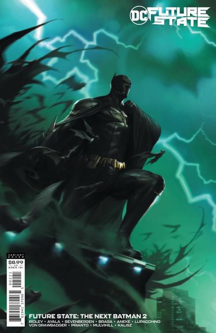 Future State: The Next Batman #2 - Francesco Mattina Card Stock Variant - 2021 - DC Comic