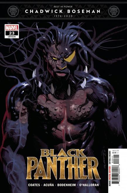 Black Panther #23 - 2021 - Marvel Comic