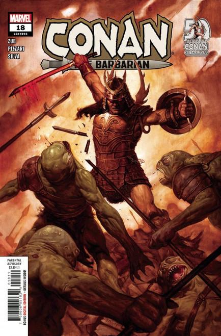 Conan The Barbarian #18 - 2021 - Marvel Comic