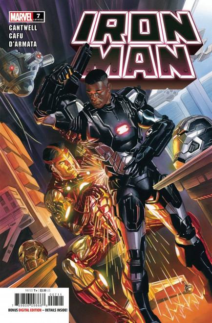 Iron Man #7 - 2021 - Marvel Comic