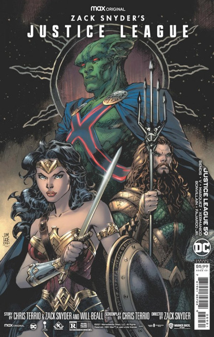 Justice League #59 - Jim Lee Synder Cut Variant Edition - 2021 - DC Comic