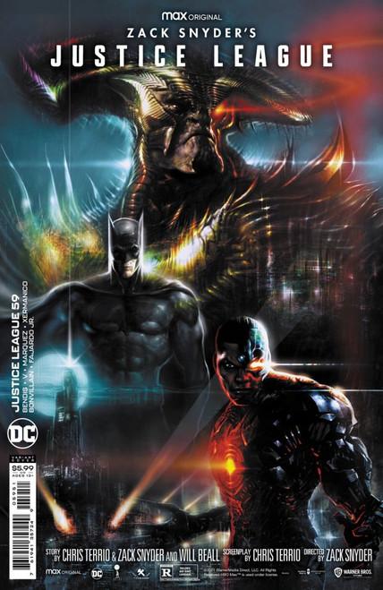 Justice League #59 - Liam Sharp Snyder Cut Variant Edition - 2021 - DC Comic