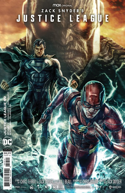 Justice League #59 - Lee Bermajo Snyder Cut Variant Edition - 2021 - DC Comic