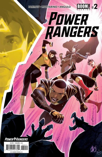 Power Rangers #2 - 2020 - Boom! Comic