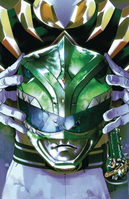 Mighty Morphin Power Rangers #55 - Montes Foil Variant - 2020 - Boom! Comic