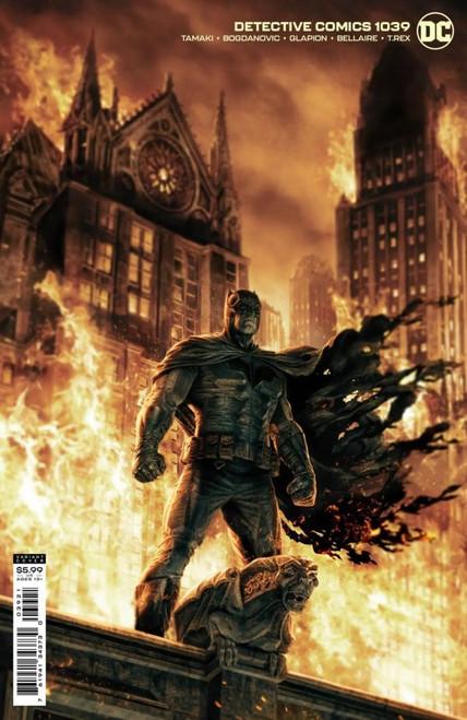 Detective Comics #1039 - Lee Bermejo Cardstock Variant - 13/07/21 - DC Comic