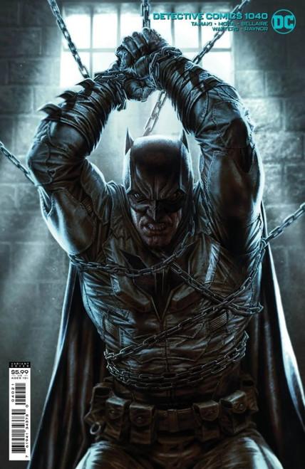 Detective Comics #1040 - Lee Bermejo Cardstock Variant - 27/07/21 - DC Comic