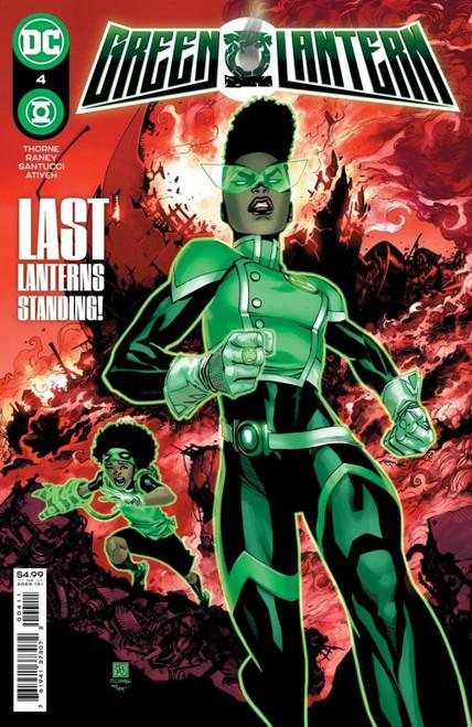 Green Lantern #4 - 06/07/21 - DC Comic