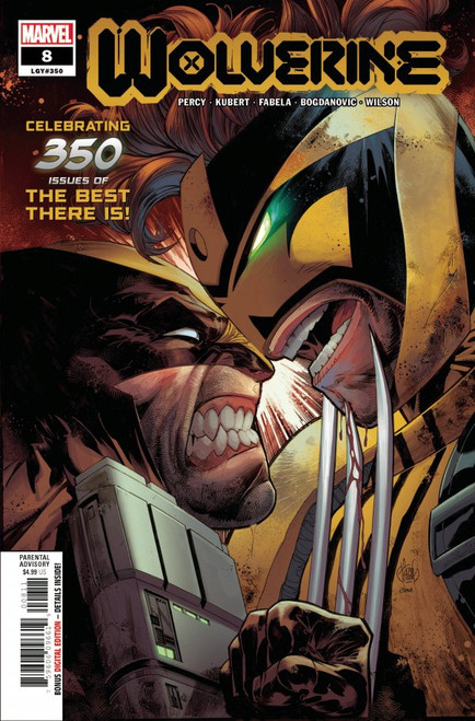 Wolverine #8 - 2020 - Marvel Comic