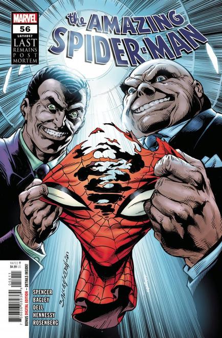 The Amazing Spider-Man #56 - 2021 - Marvel Comic