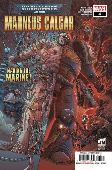 Warhammer 40,000: Marneus Calgar #4 - 2021 - Marvel Comic