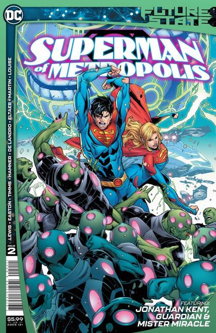 Future State: Superman Of Metropolis #2 - 2021 - DC Comic