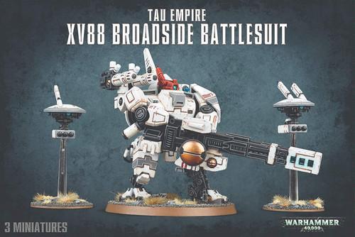 Tau Empire: XV88 Broadside Battlesuit - Warhammer 40,000
