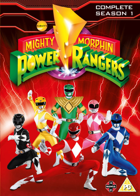 Mighty Morphin Power Rangers: Complete Season 1 DVD Box Set - 2017 - Manga Entertainment - VG