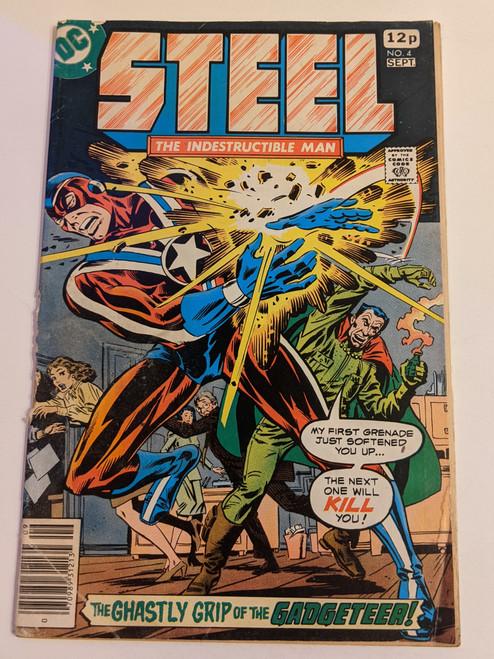 Steel The Indestructible Man #4 - 1978 - DC Comic - PR