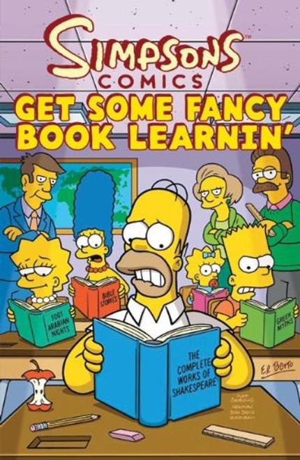Simpsons Comics: Get Some Fancy Book Learnin' - 2010 - Titan Books PB