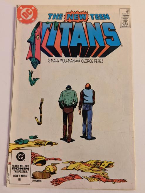 The New Teen Titans #39 - 1983 - DC Comic - FR