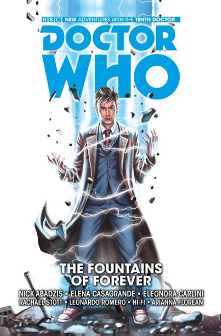 Doctor Who: The Tenth Doctor - The Fountains Of Forever - 2009 - Titan Comics PB