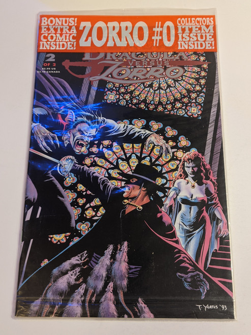 Zorro #0 - 1994 - Topps Comics - New/Sealed
