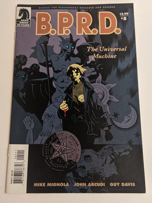 BPRD #5 - The Universal Machine - 2006 - Dark Horse Comic - FF
