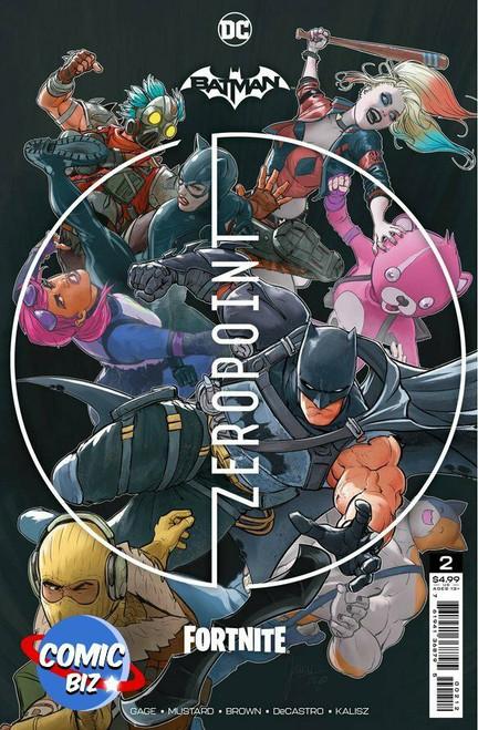 Batman/Fortnite #2: Zero Point (2nd Printing) - 2021 - DC Comic