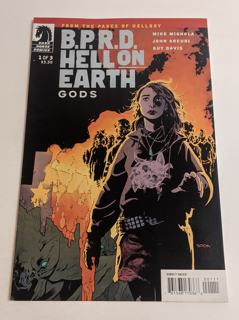BPRD Hell On Earth - Gods - #1 - 2011 - Dark Horse Comic - FN