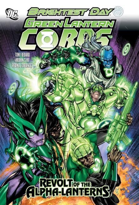 Green Lantern Corps: Revolt Of The Alpha-Lanterns - 2011 - DC Graphic Novel - HC