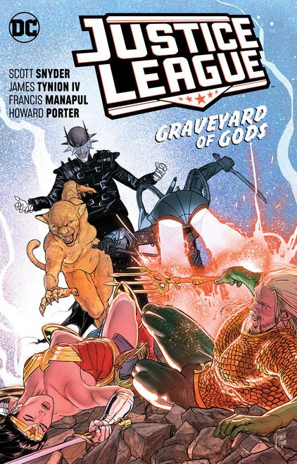 Justice League: Graveyard Of Gods - 2019 - PB - DC Graphic Novel