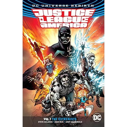 Justice League Of America: Volume 1: The Extremists - 2017 - PB - DC Graphic Novel