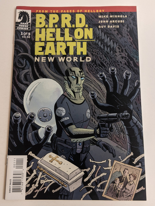BPRD Hell On Earth #1 - New World - 2010 - Dark Horse Comic - NM
