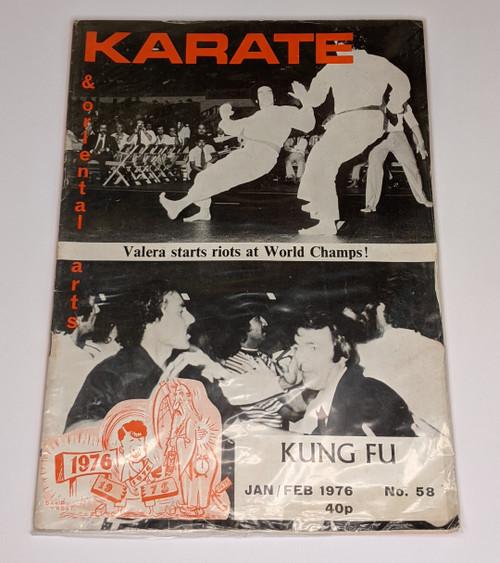 Karate & Oriental Arts - 1976 - Paul Crompton Publishers Magazine - Sealed