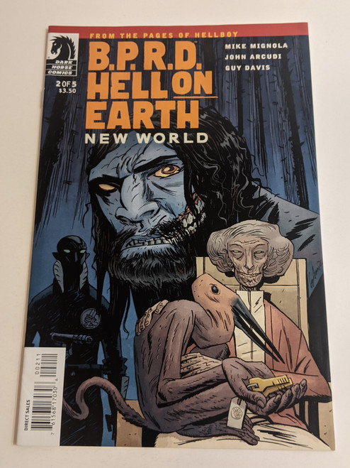 BPRD Hell On Earth #2 - New World - 2010 - Dark Horse Comic - VG