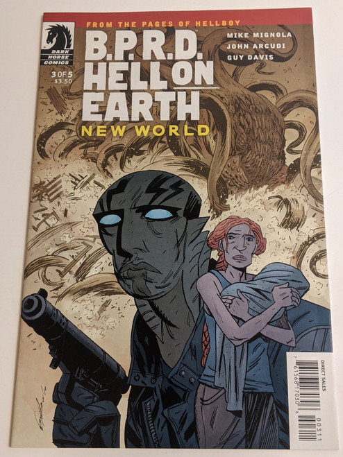BPRD Hell On Earth #3 - New World - 2010 - Dark Horse Comic - NM