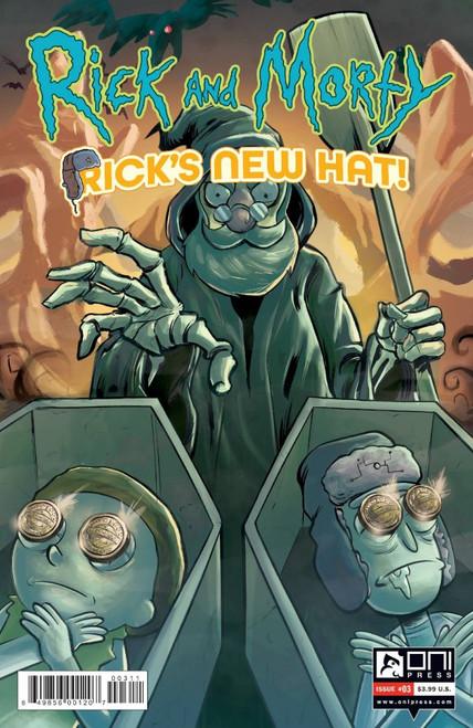 Rick and Morty: Rick's New Hat #3 - 11/08/21 - Oni Press Comic
