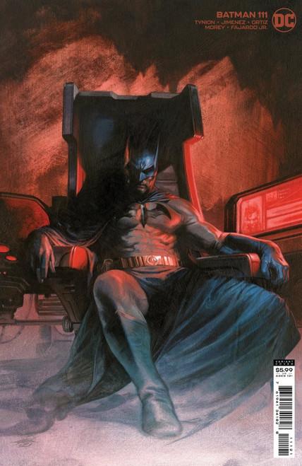Batman #111 - Cover B Dell'Otto Card Stock Variant - 03/08/21 - DC Comic