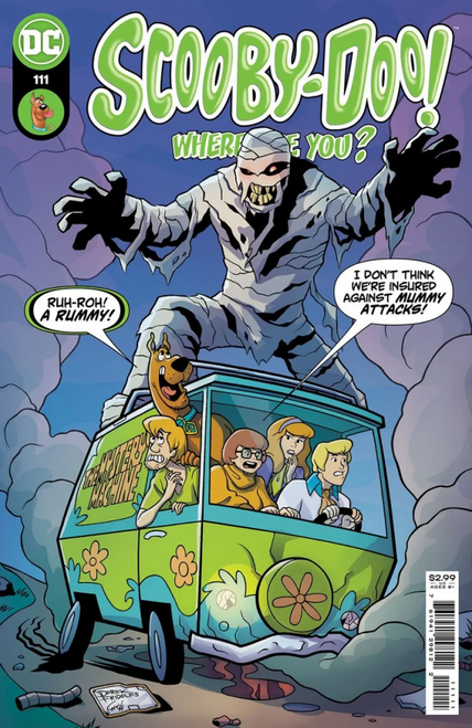 Scooby-Doo, Where Are You? #111 - 17/08/21 - DC Comic