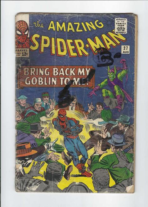 The Amazing Spider-Man #27 - 1965 - Marvel Comic - PR